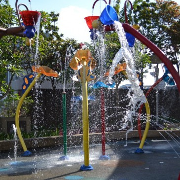 Waterplay and playground @ IMM