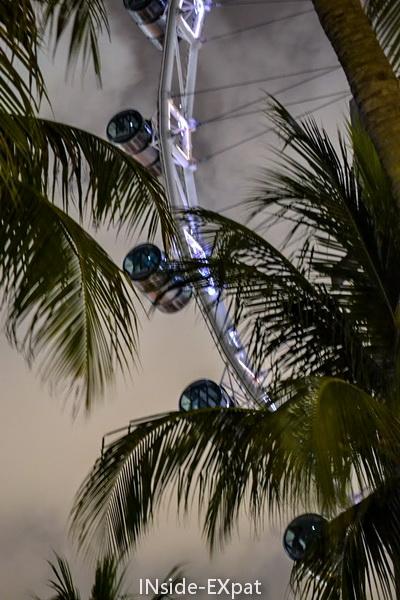 les capsules du singapore flyer