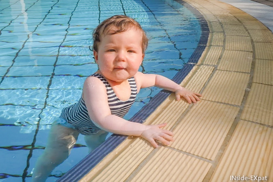 Mimi B. comme un poisson dans l'eau