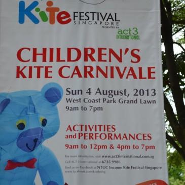 Children's Kite Carnivale (West Coast Park) et déjeuner à Holland Village