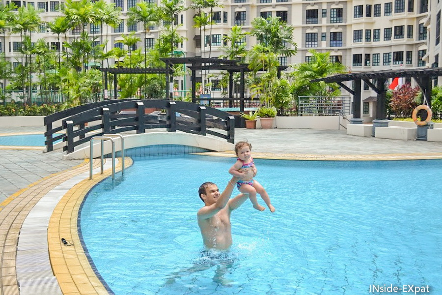 Chiltern Park's swimming pool - Singapore