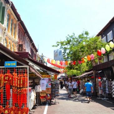 Le Temple de la relique de la dent de Bouddha à Chinatown