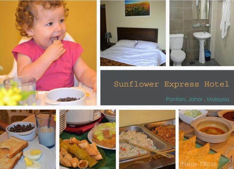 Chambre et petit déjeuner au Sunflower Hotel de Pontian