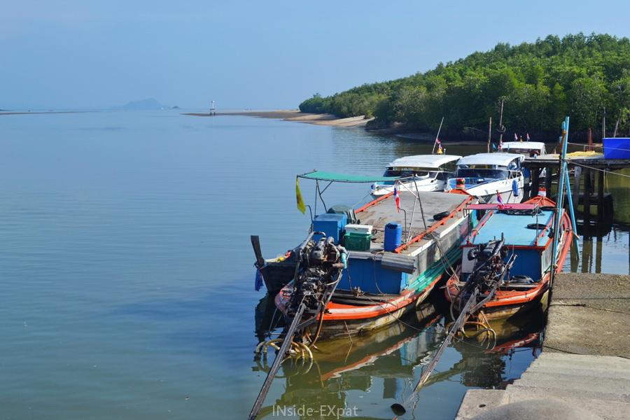 Embarcadère de Bang Rong Pier à Phuket desservant Koh Yao
