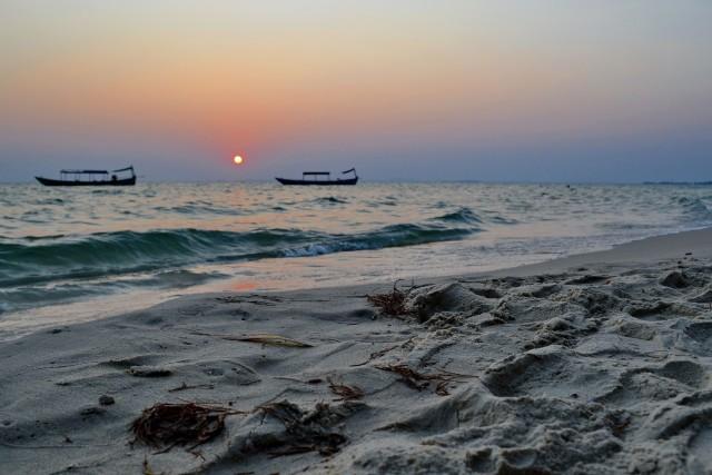 Coucher de soleil Otres Beach 1
