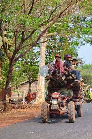 Tracteur Cambodge