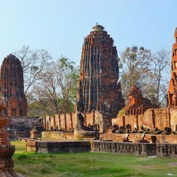 Back in Thailand – Jour 5 : Ayutthaya, temples khmers à 2h de Bangkok