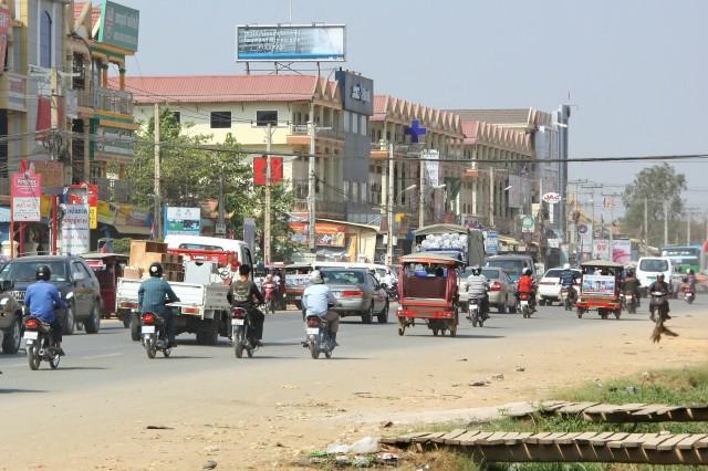 Route Cambodge