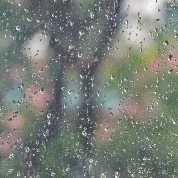Singapour sous la pluie