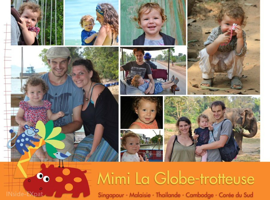 Mimi La Globe-trotteuse en Asie