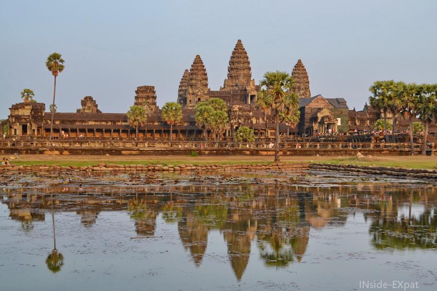 Angkor Vat en fin de journée