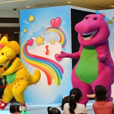 L'anglais pour les tout-petits #1 : Barney et autres dessins animés anglophones