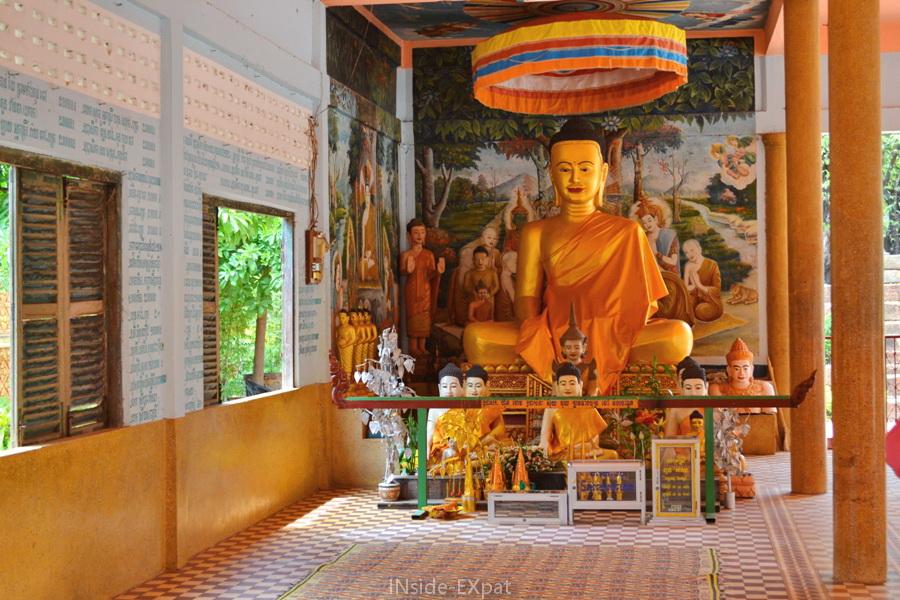 Buddha assis à Siem Reap