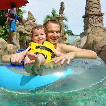 Un dimanche après-midi à Sentosa Adventure Cove Waterpark
