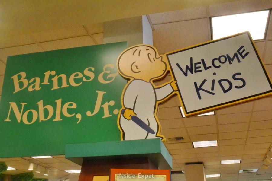 panneau chez Barnes & Noble