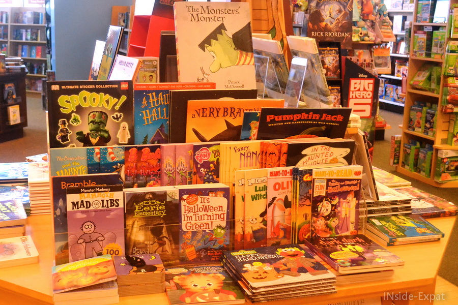 """Sélection """"Halloween"""" de Barnes & Noble"""
