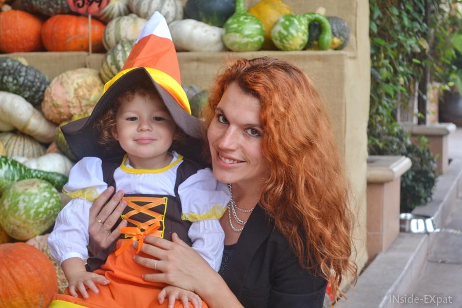 Mimi et Mummy... et les citrouilles!