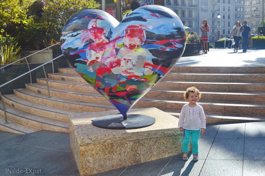 Heart - Union Square - San Francisco