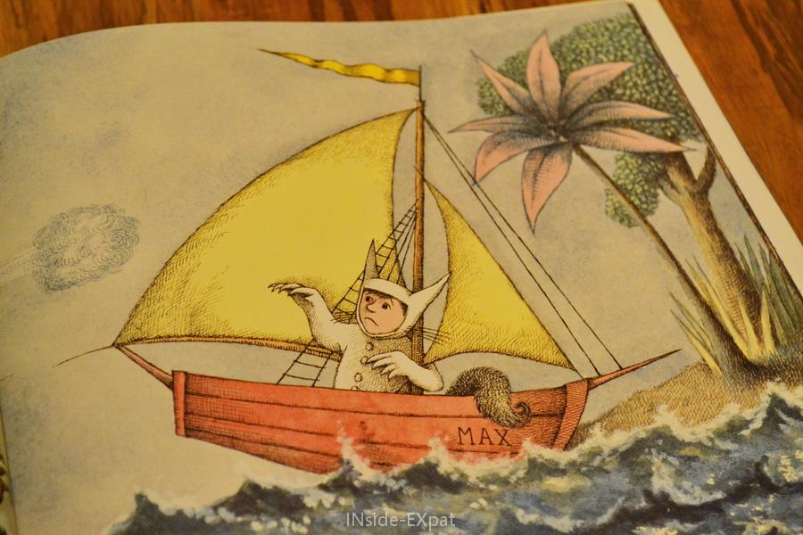 Max et son bateau