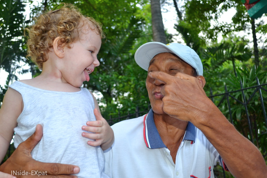 Mimi et Pol, rencontré au Rizal Park