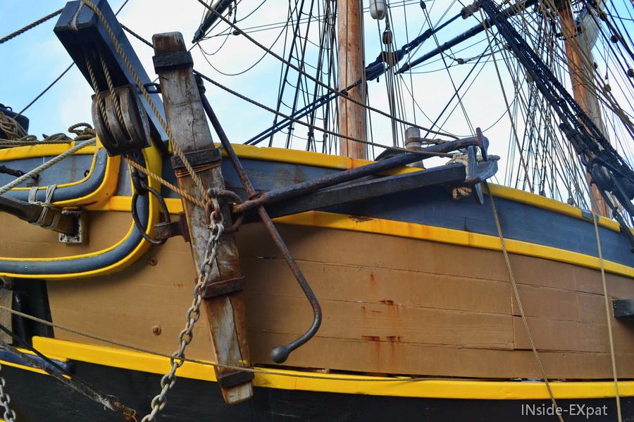 L'ancre du bateau