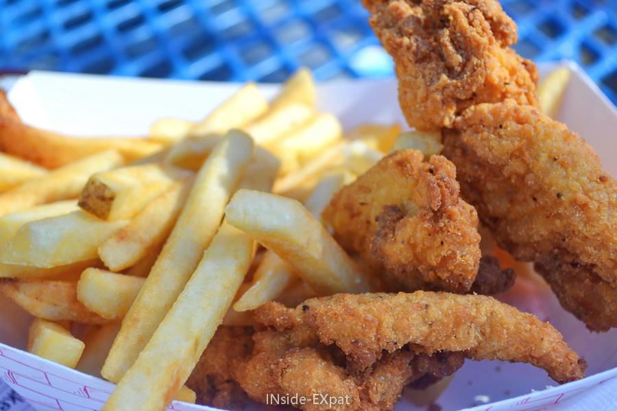 Panier poulet-frites