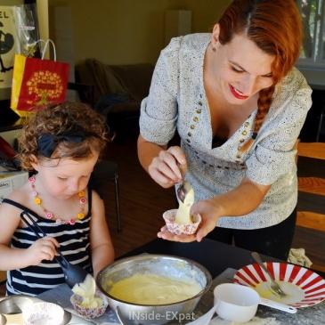 Cuisiner avec les tout-petits (et notre recette!)