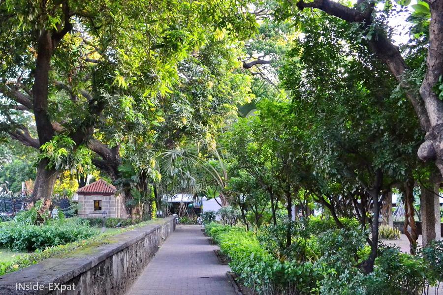 Entrée du parc du Fort Santiago