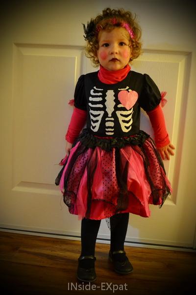 Déguismement de squelette funky de Mimi B.
