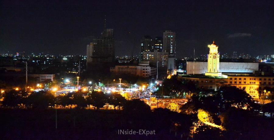 Vue panoramique sur Manille