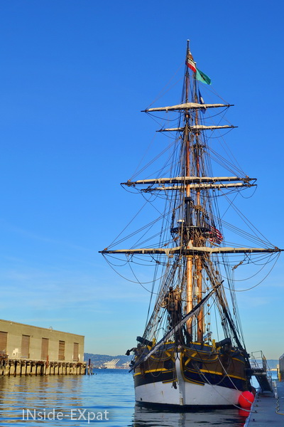 Visite du bateau de pirate