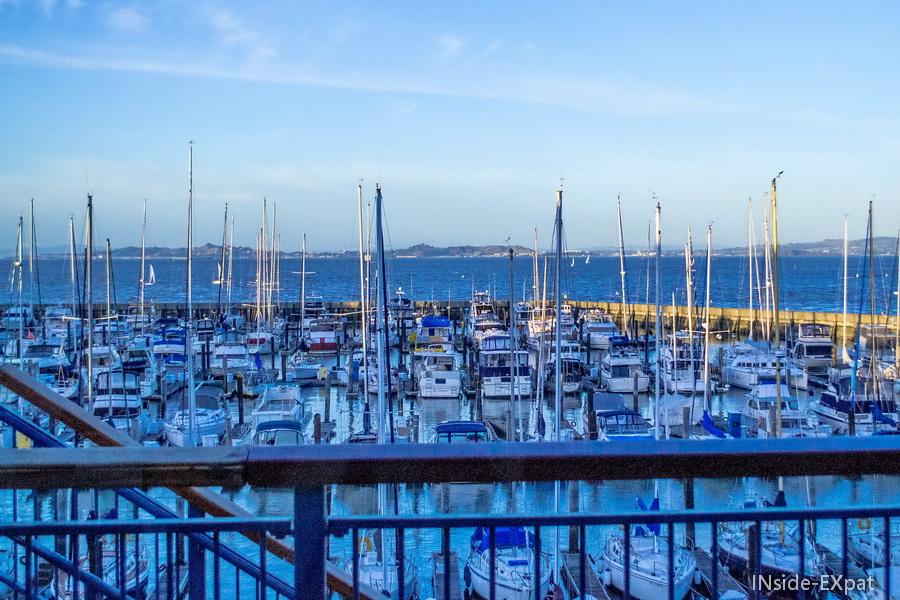 Port de SF depuis l'Aquarium