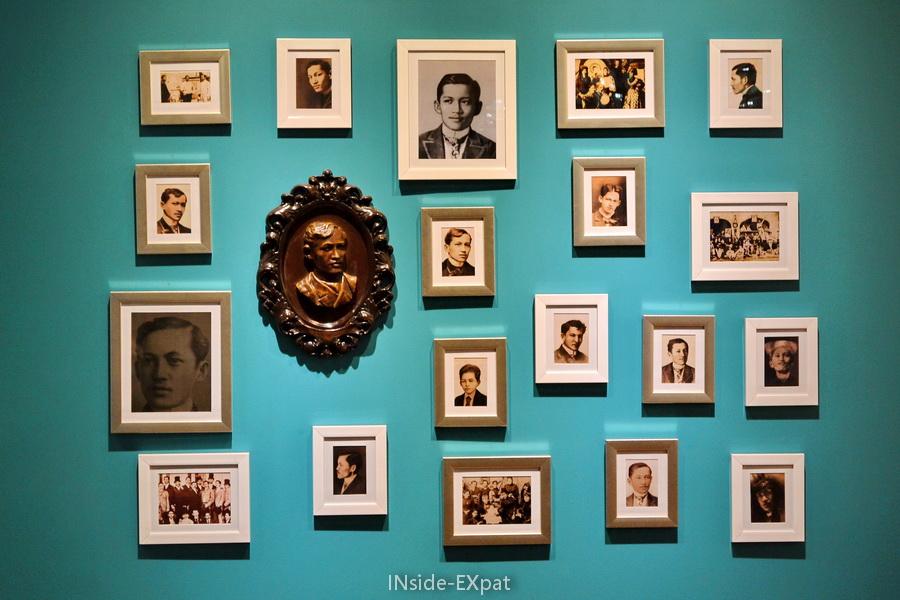 Souvenirs et portraits de Rizal