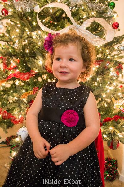 La tenue du réveillon de Noël 2014 de Mimi