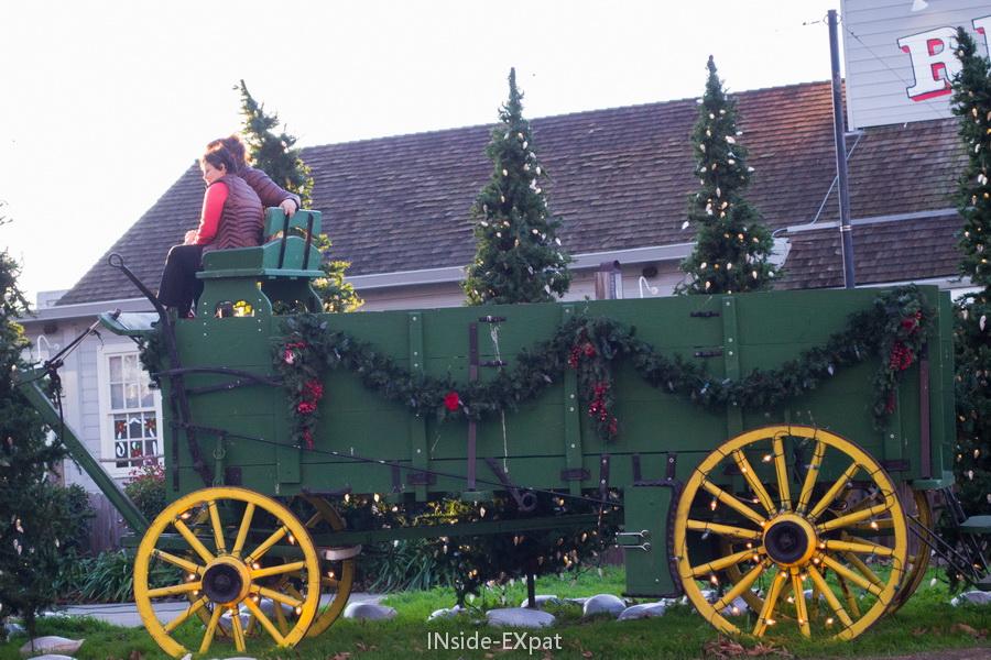 La calèche de Noël