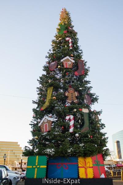 Le sapin de Noël du Vieux Sacramento