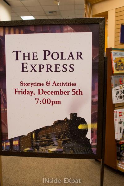 Soirée conte et activités autour du Polar Express