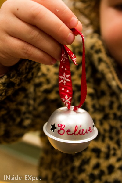"""La clochette """"Believe"""" de Noël"""