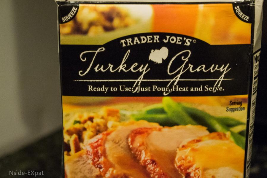 la gravy sauce de trader joe's
