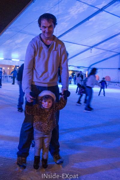 Daddy B. et Mimi B. sur la glace