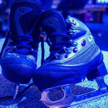 Ma première fois à la patinoire