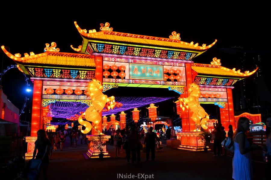 """L""""année du cheval à Singapore"""