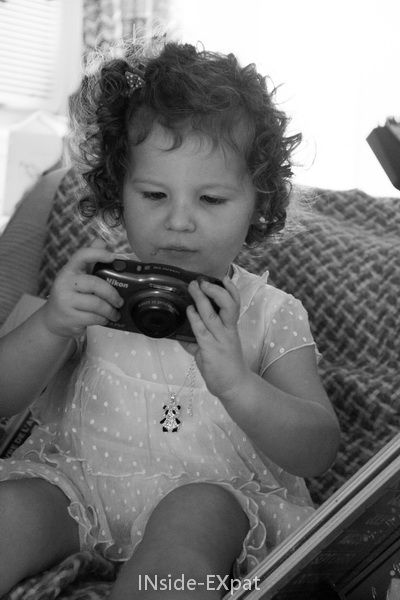 Mimi et son appareil photo