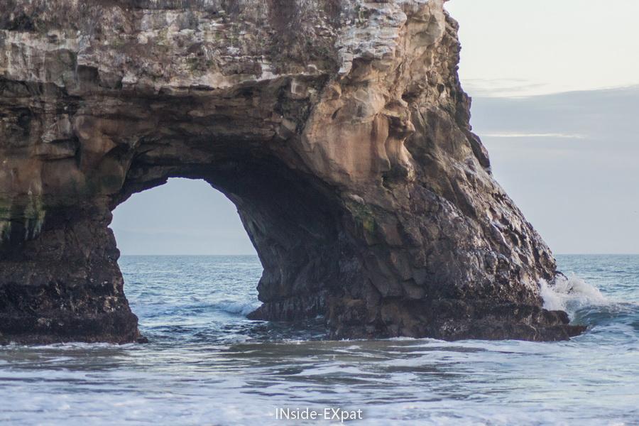 Arche naturelle creusée par l'érosion