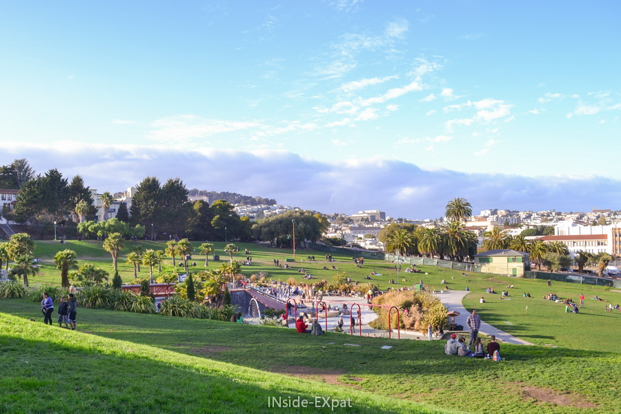 Mission Dolores Park, San Francisco, CA