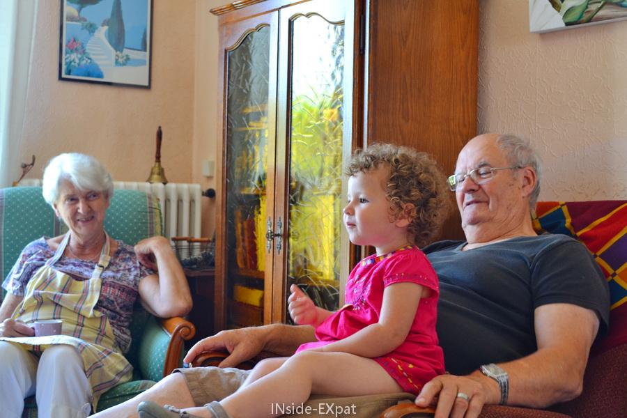 Mimi B. chez Gran'Pa & Gran'Ma B.