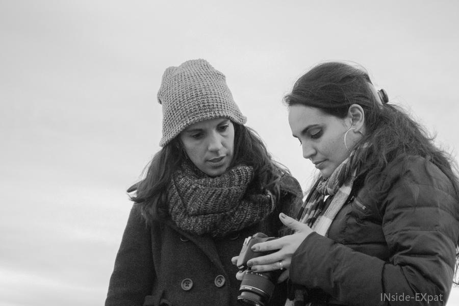 Sara et Cécile