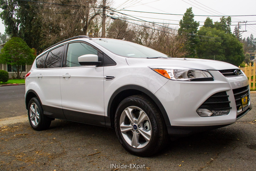 Ford Escape blanche 2015