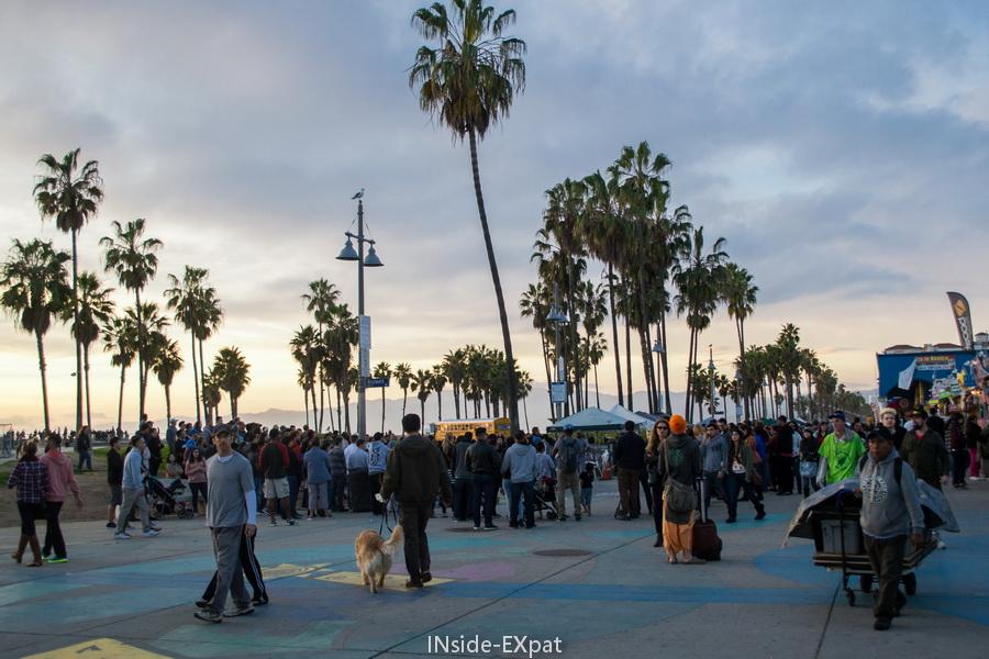 La foule à Venice