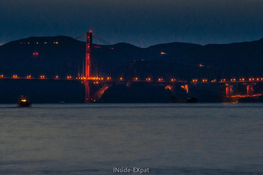 Golden Gate Bridge de nuit